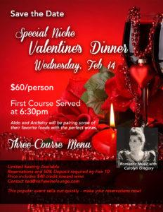 Niche Valentine Dinner